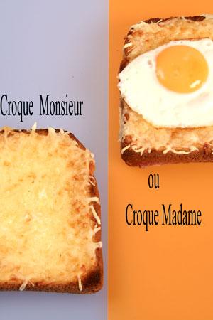 Recette croque monsieur - Sachet cuisson croque monsieur grille pain ...