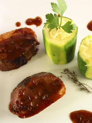 Recette magret de canard magret de canard sauce framboise - Cuisiner un magret de canard a la poele ...